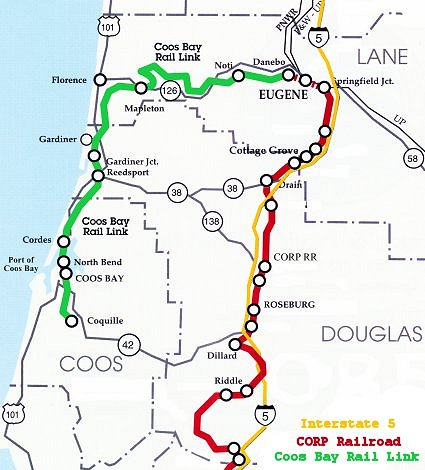 global strategies the coos bay rail link