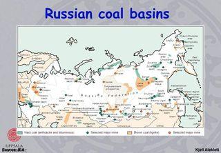 Russian coal basins