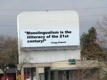 Monoligualism