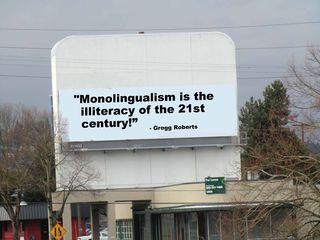 Monolingualism