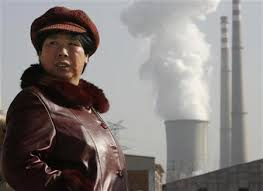 China smokestacks