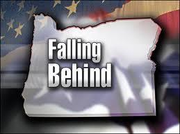 Falling behind
