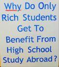 Study abroad rich kids