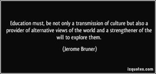 Education culture bruner