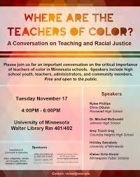 Teacher of color
