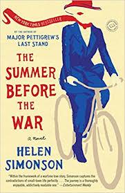 Summer before the war